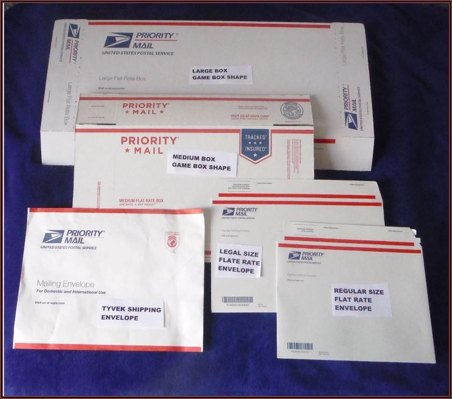 Usps Mailing Envelope Rates