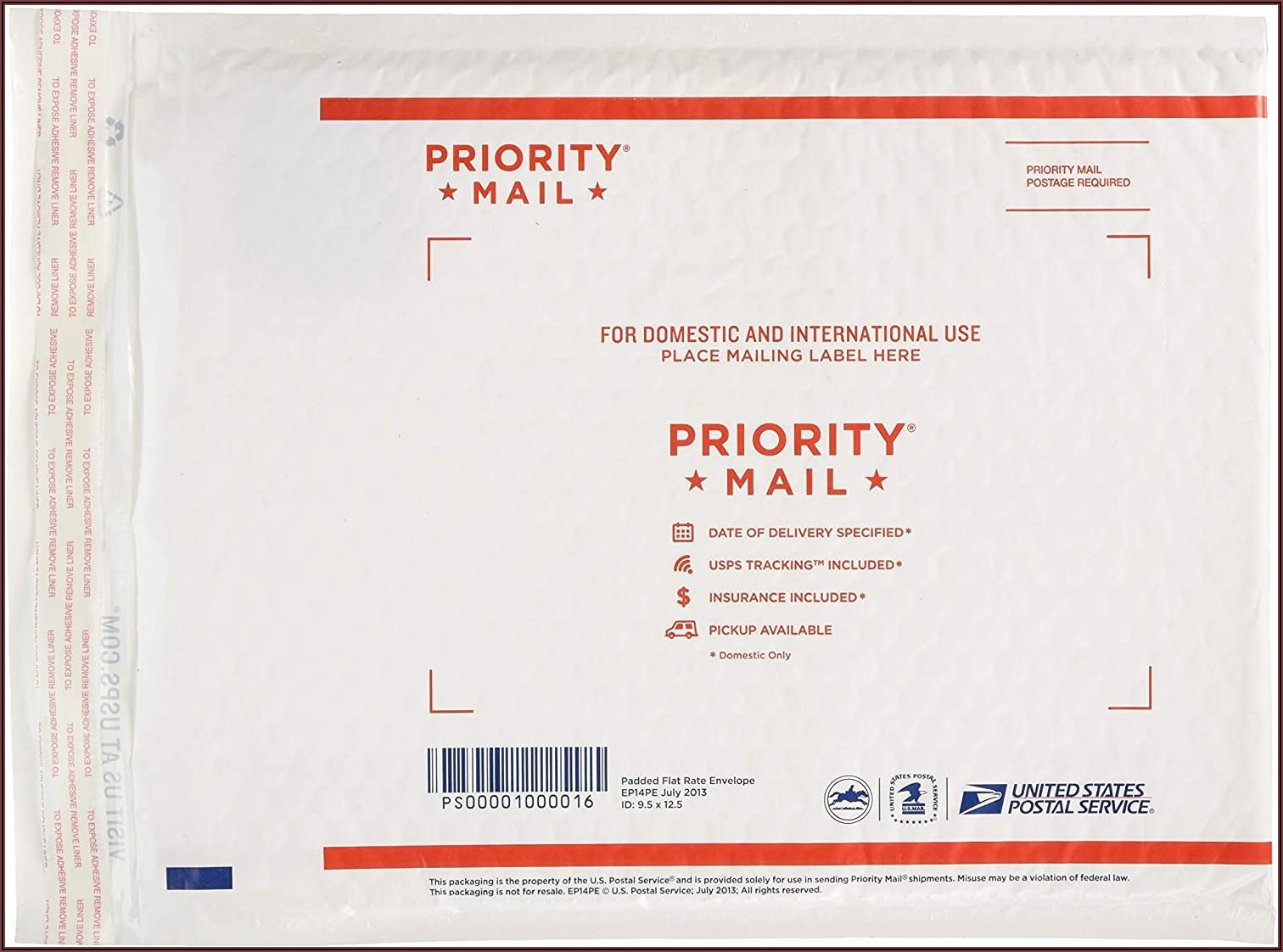 Usps Padded Flat Rate Envelope Size