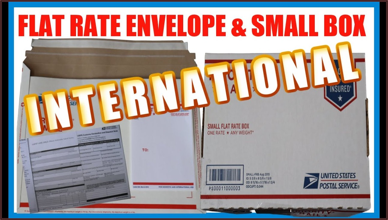 Usps Prepaid Envelope International