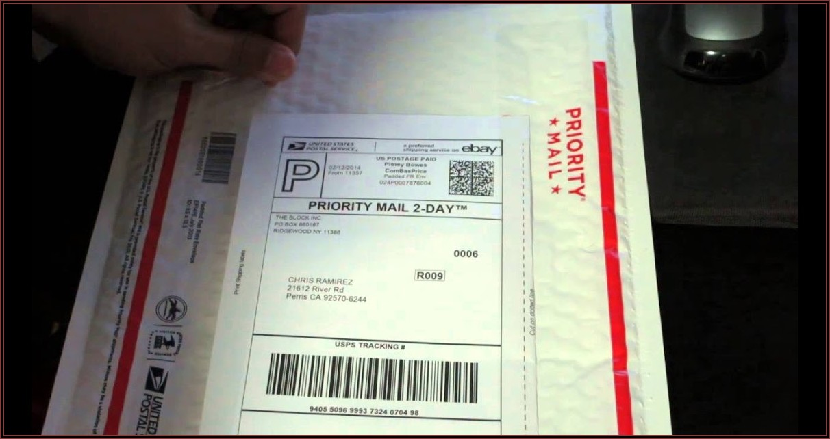 Usps Priority Mail International Padded Flat Rate Envelope Tracking