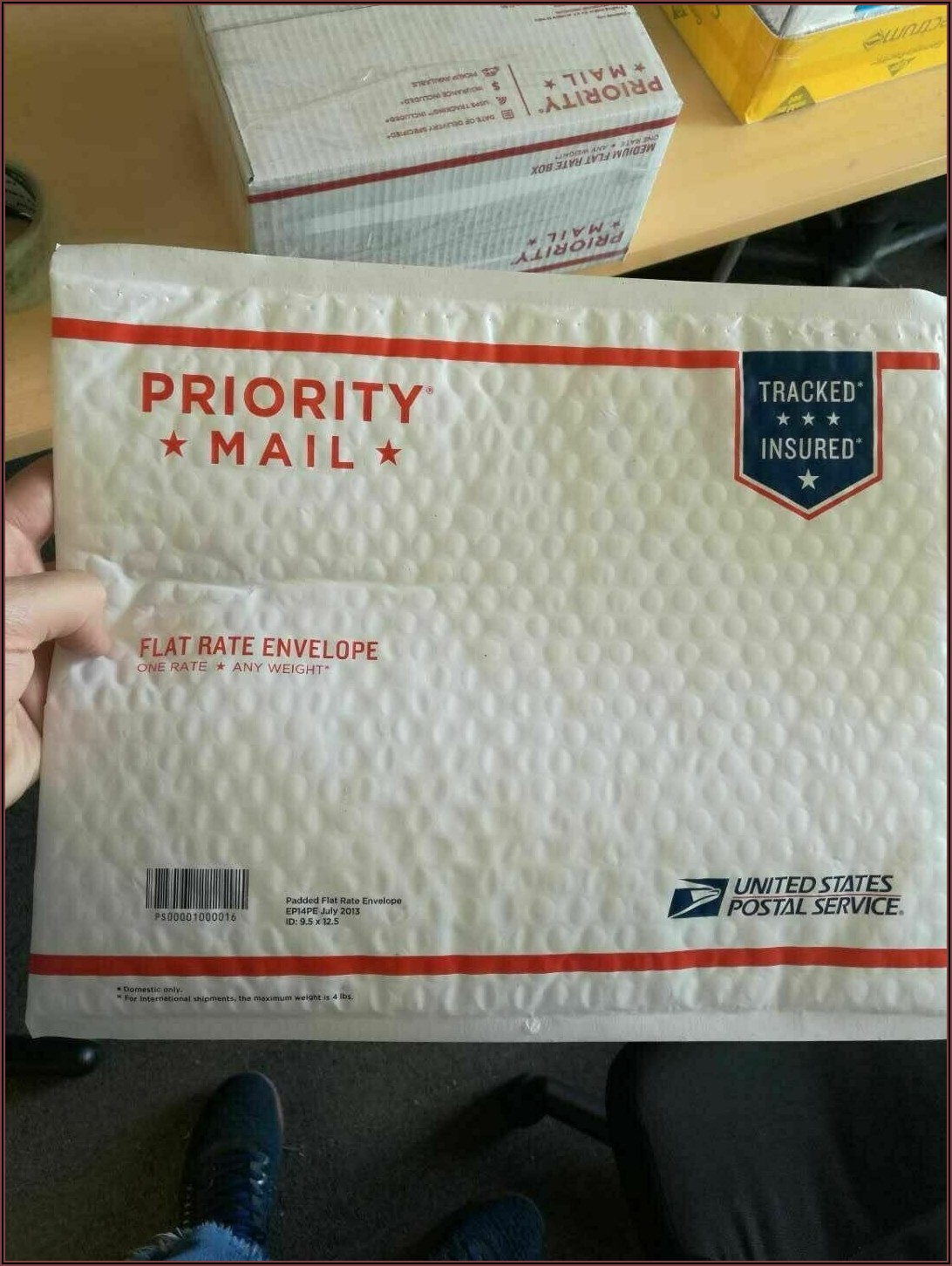 Usps Priority Mail International Padded Flat Rate Envelope