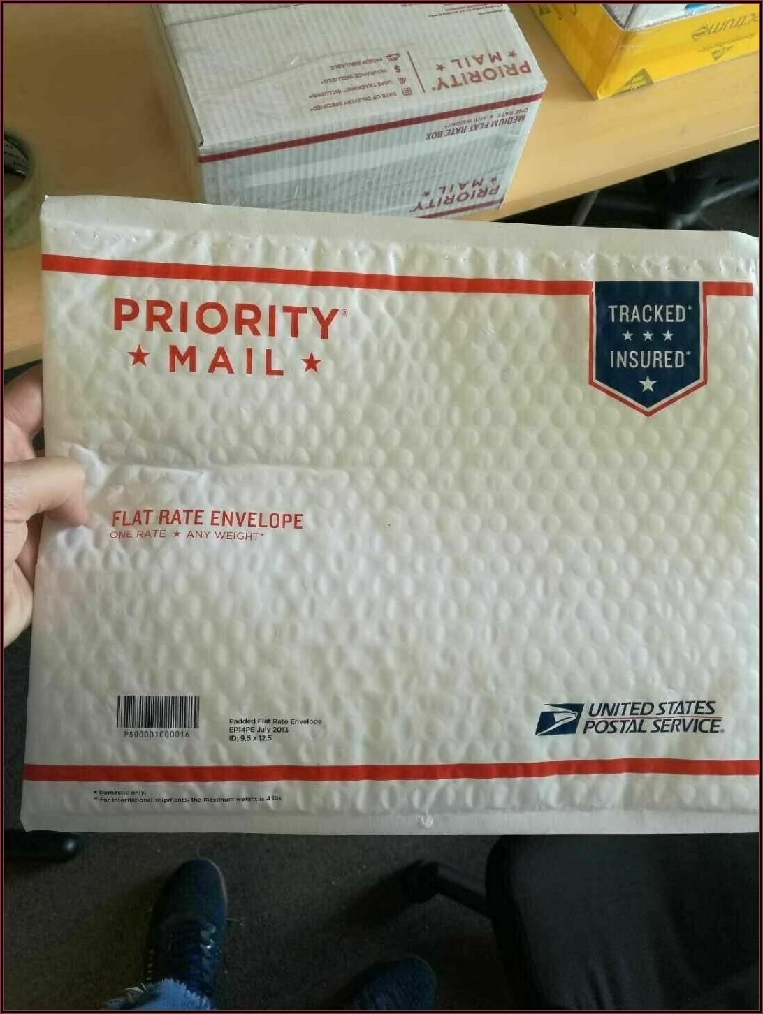 Usps Priority Mail International Padded Flat Rate Envelope