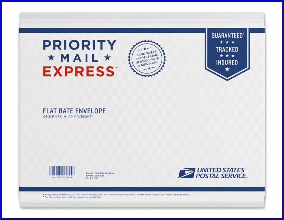 Usps Priority Mail Padded Flat Rate Envelope Insurance