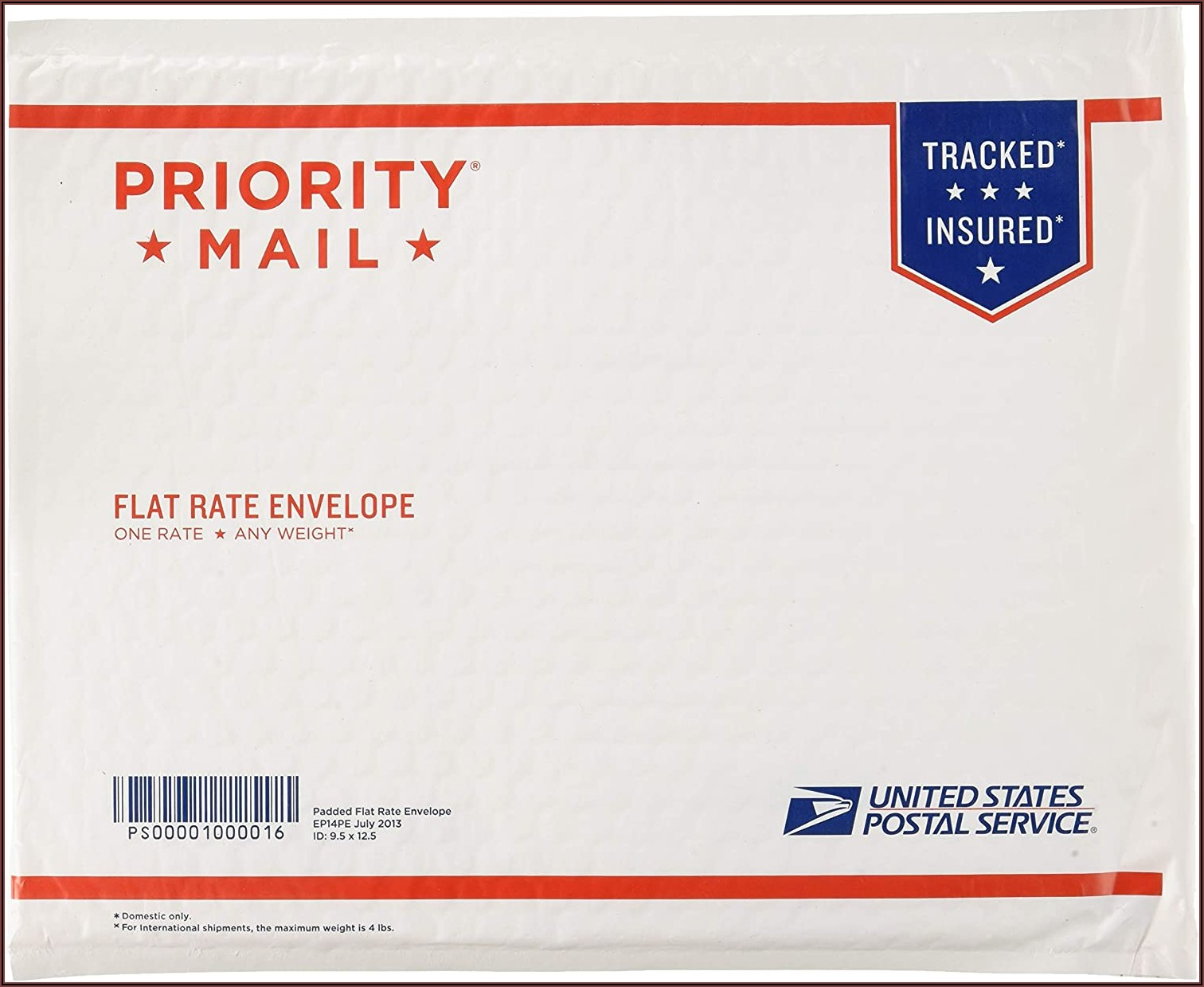 Usps Priority Mailing Envelope Sizes