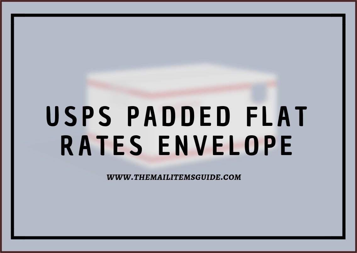 Usps Priority Padded Envelope Rate