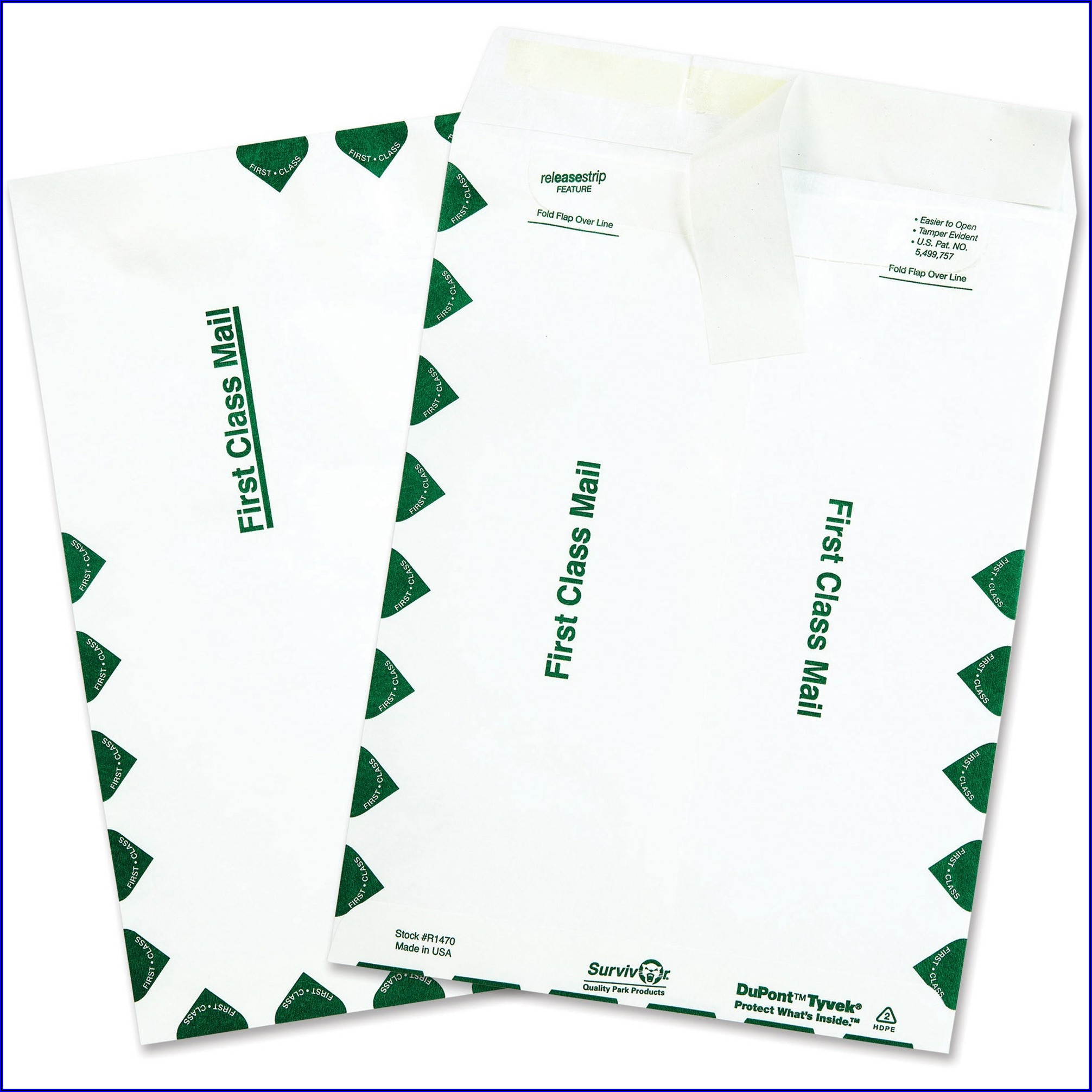 Usps Tyvek Envelope Size