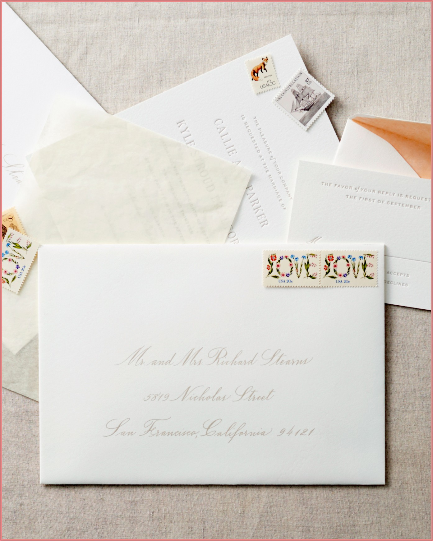 Wedding Invitation Address Wording Etiquette