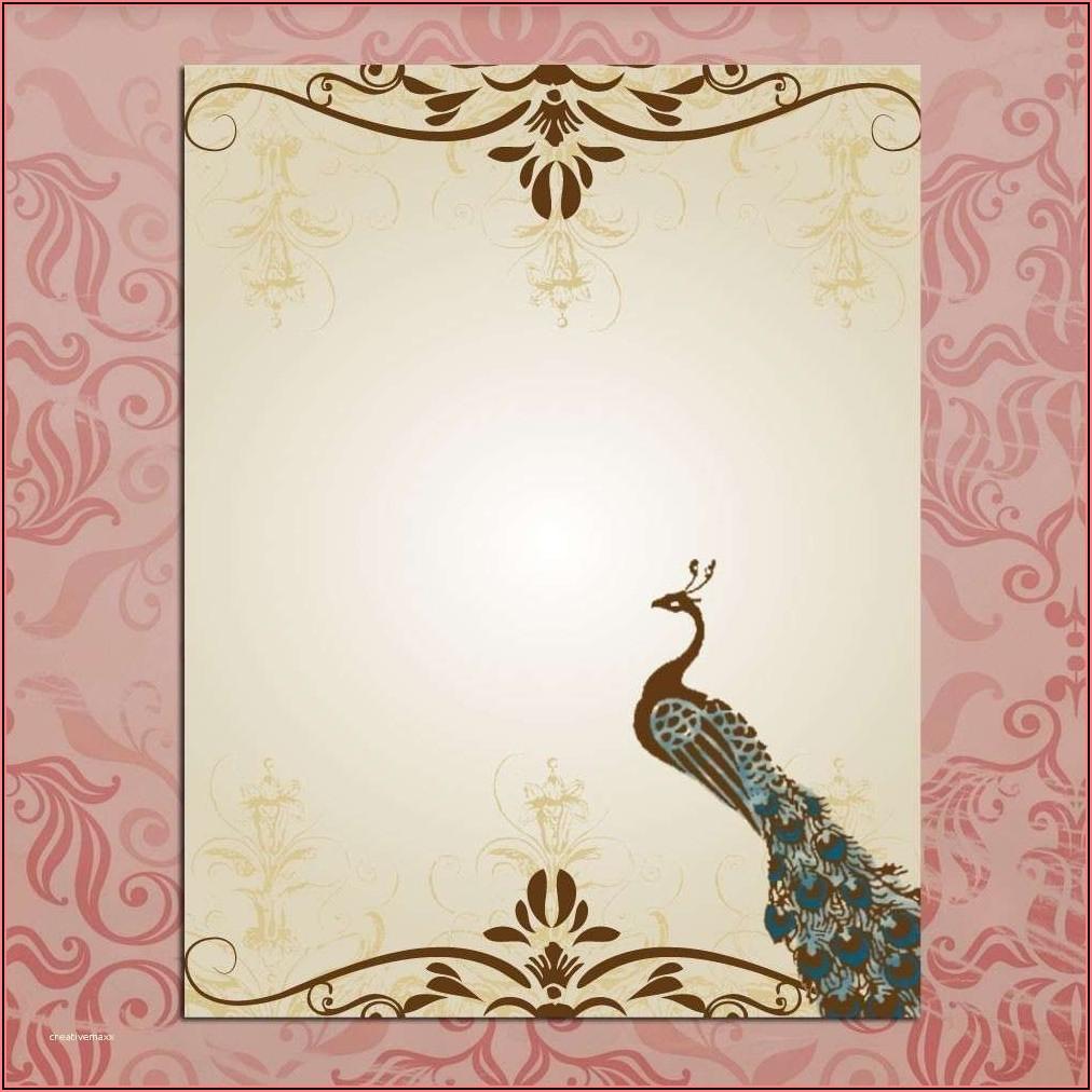 Wedding Invitation Background Designs Free Download
