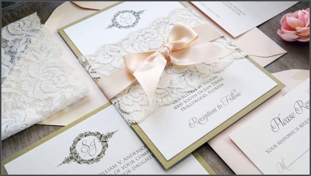 Wedding Invitation Belly Band Diy