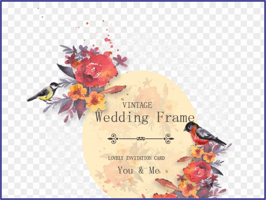 Wedding Invitation Card Background Hd