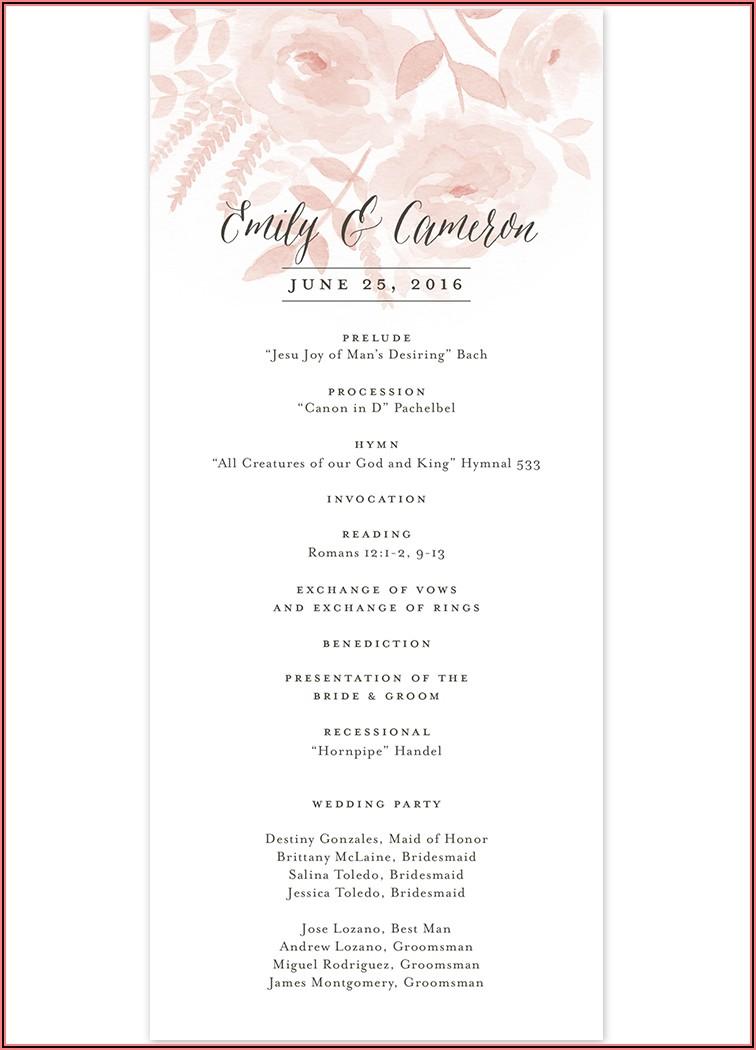 Wedding Invitation Verbiage Etiquette