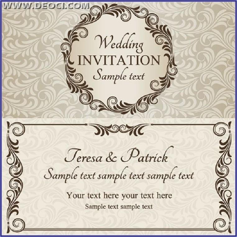 Wedding Invitations Designs Free Download