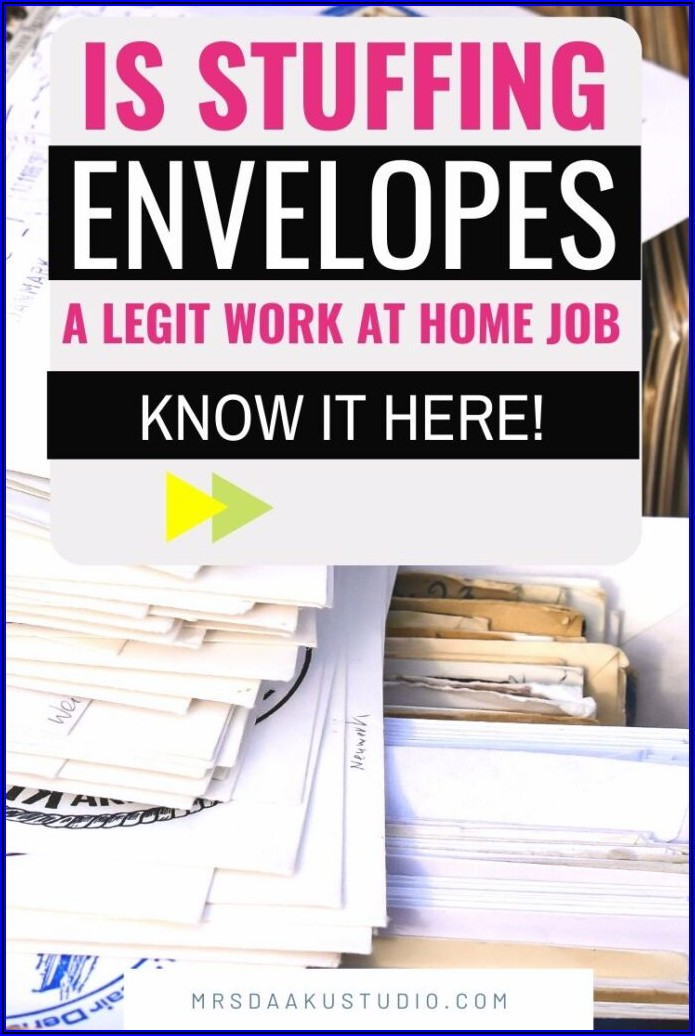 Work From Home Jobs Stuffing Envelopes Uk