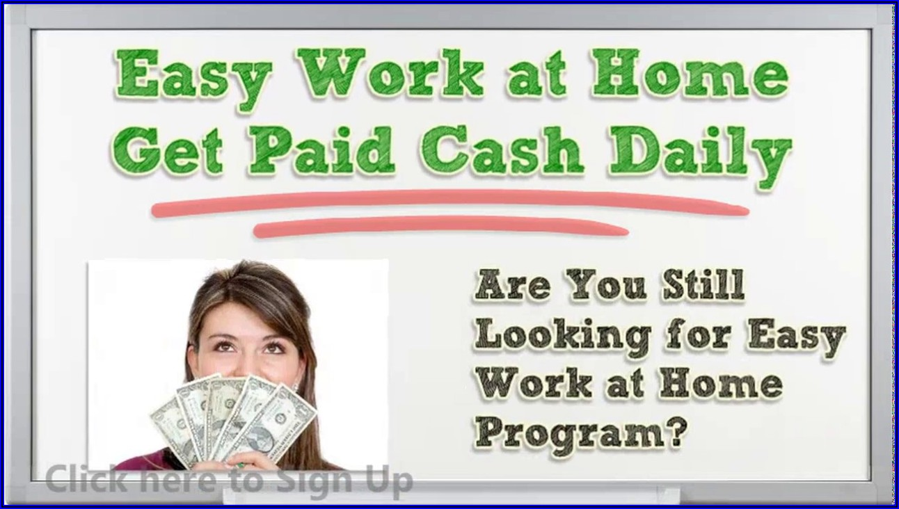 Work From Home Jobs Stuffing Envelopes