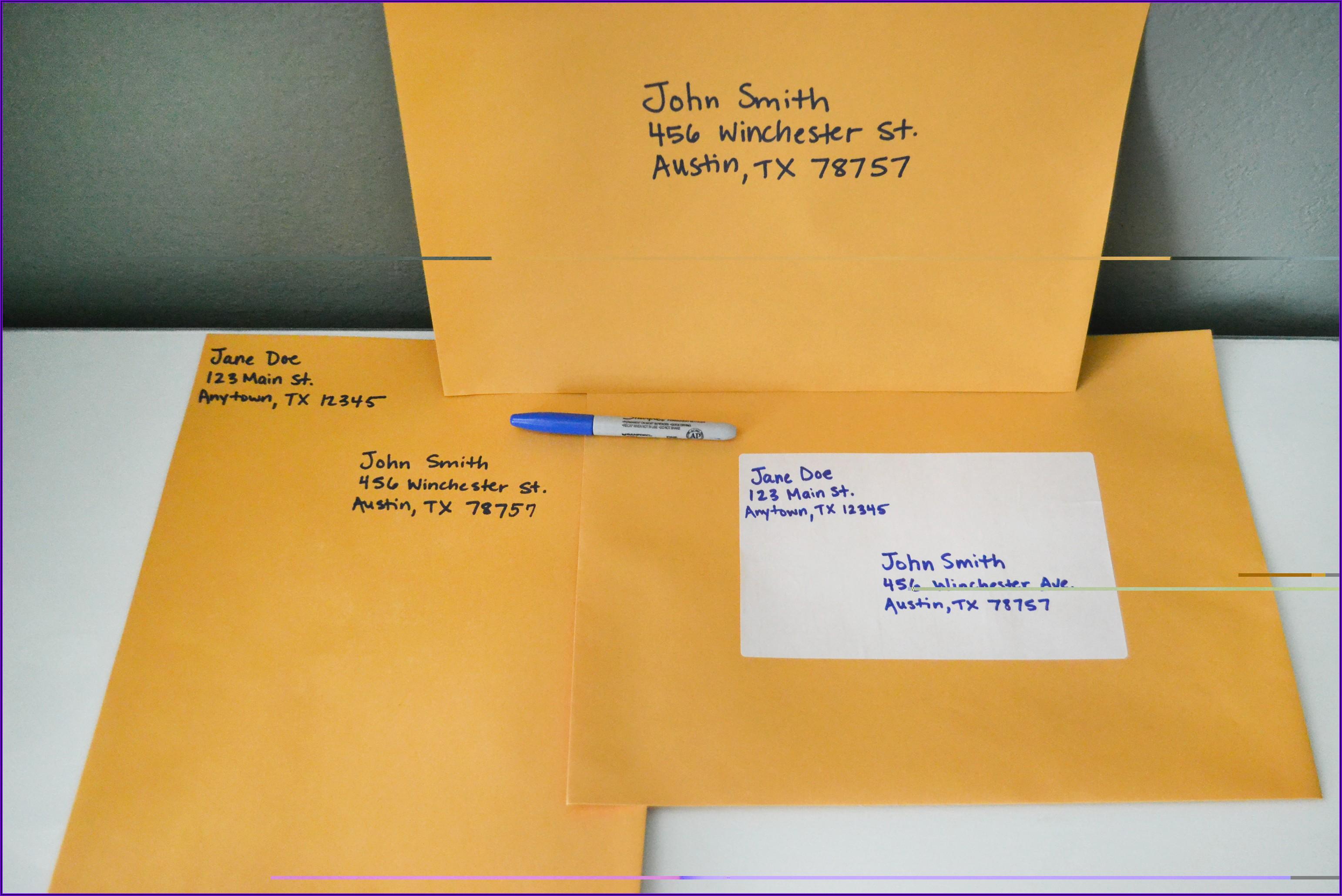 10 X 13 Manilla Envelope Postage