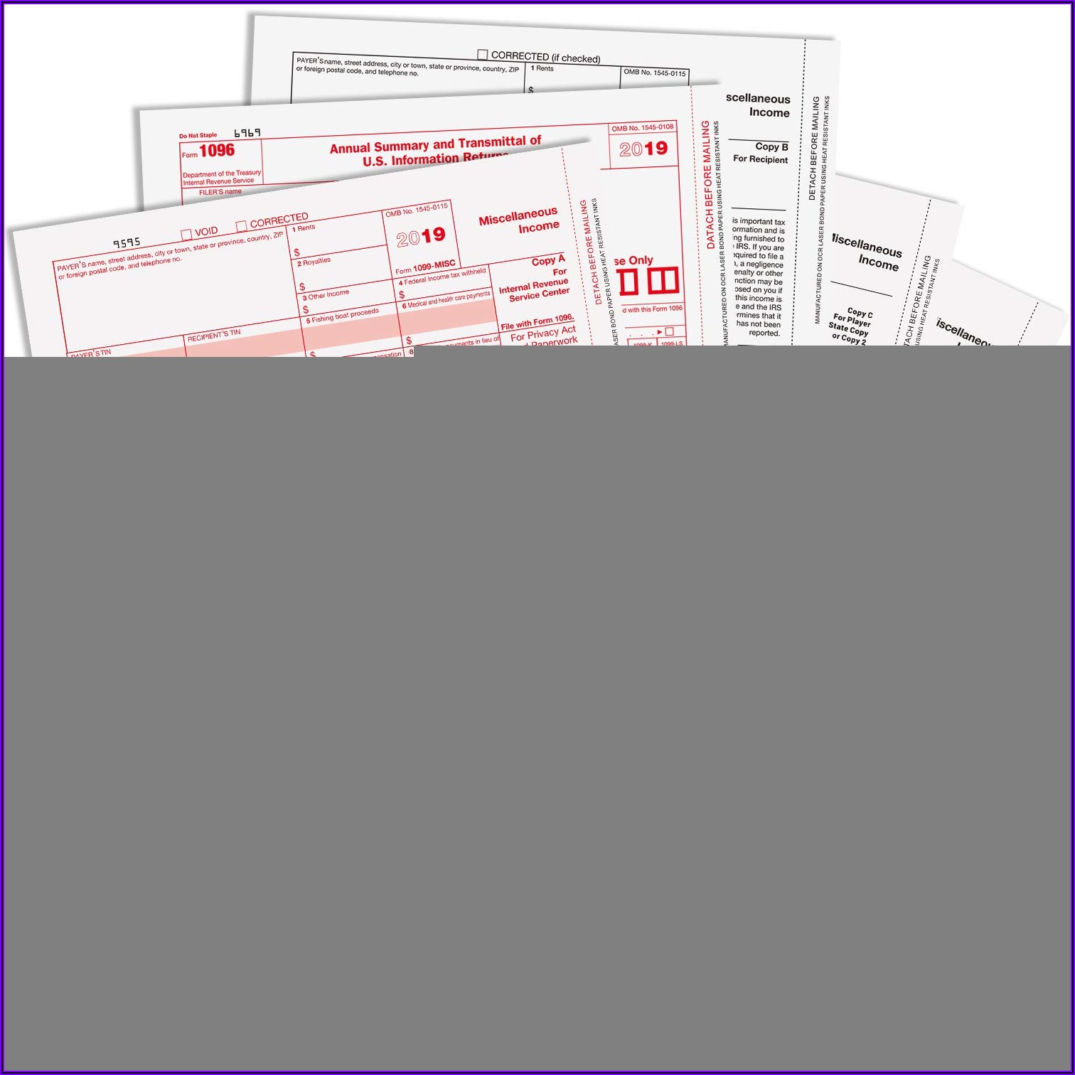 1099 Misc Laser Tax Forms And Envelopes