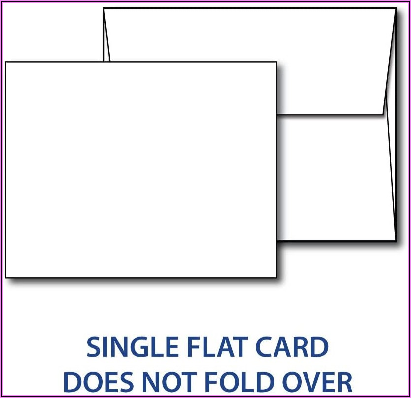 4 X 5 Blank Cards And Envelopes