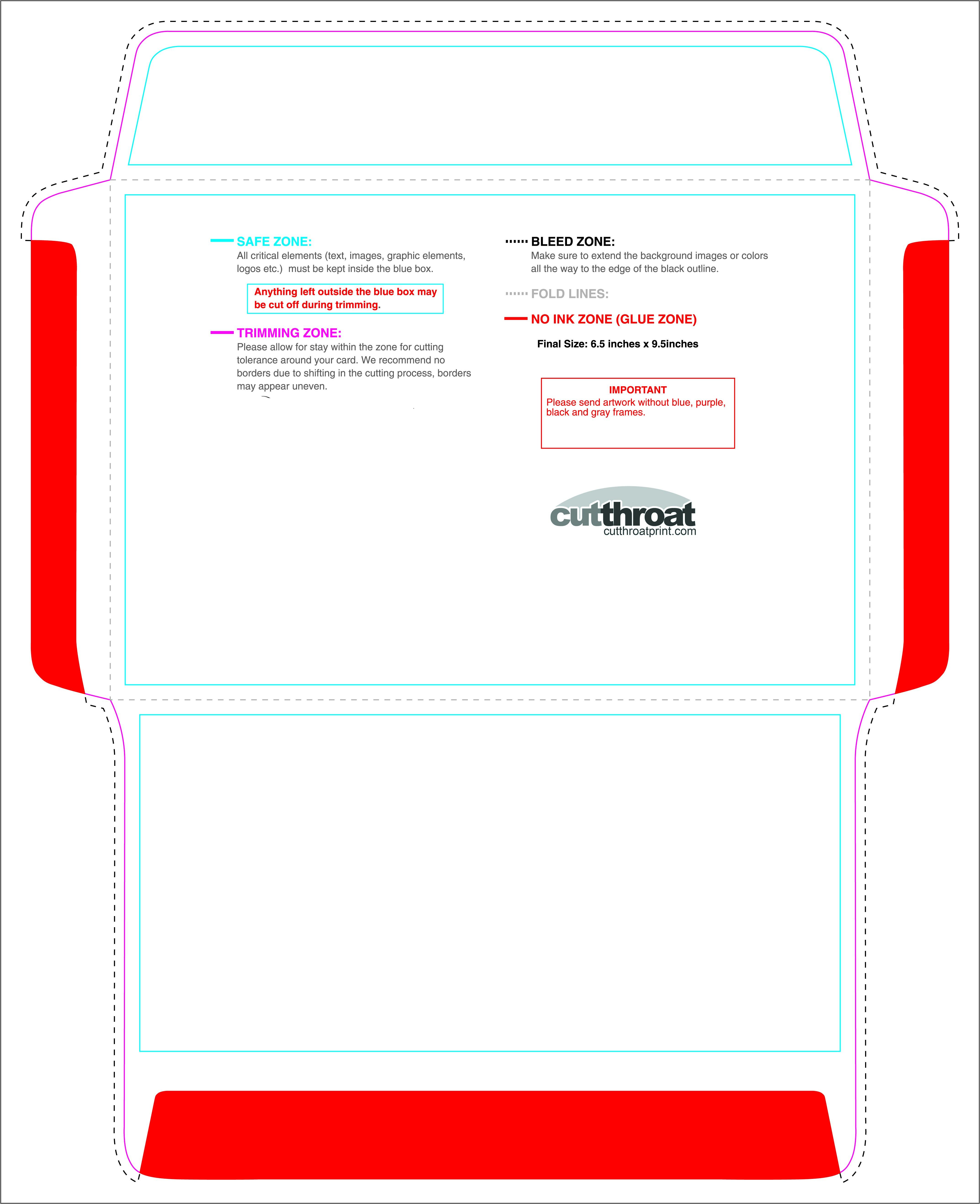 6 X 9 Catalog Envelope Template