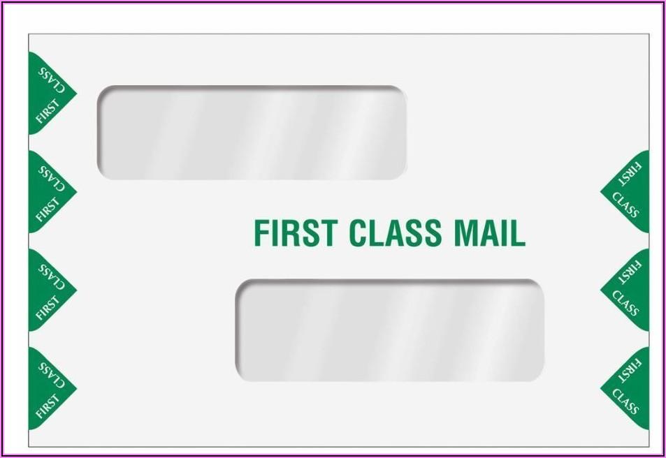 6 X 9 Double Window Envelopes