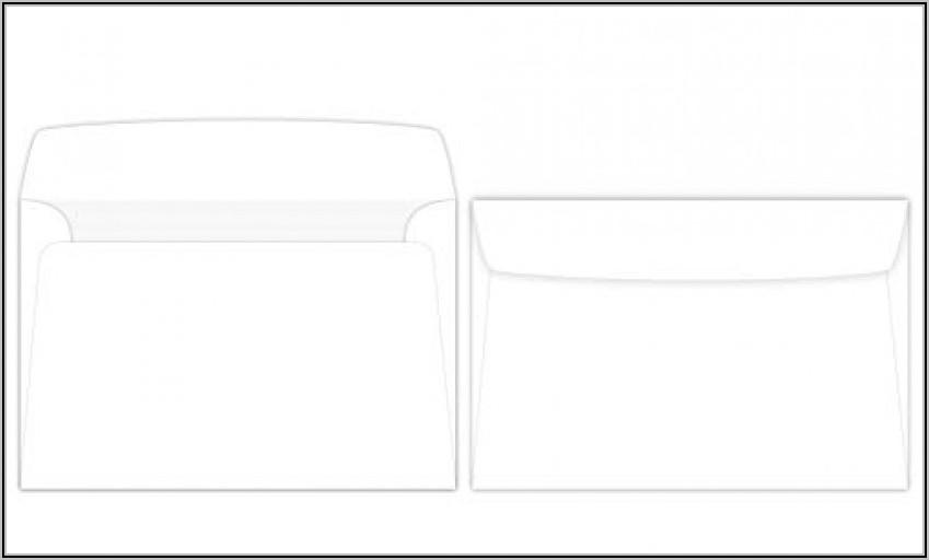 6 X 9 White Booklet Envelopes