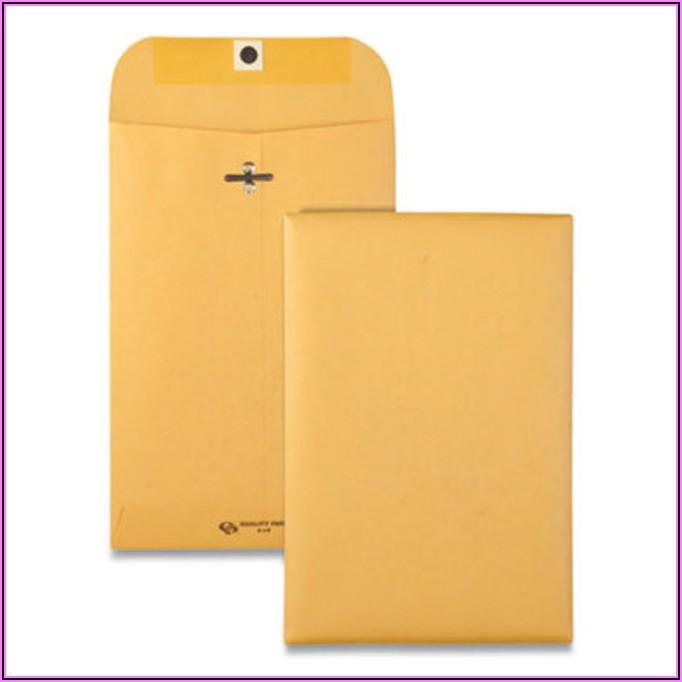 6x9 White Envelopes Staples