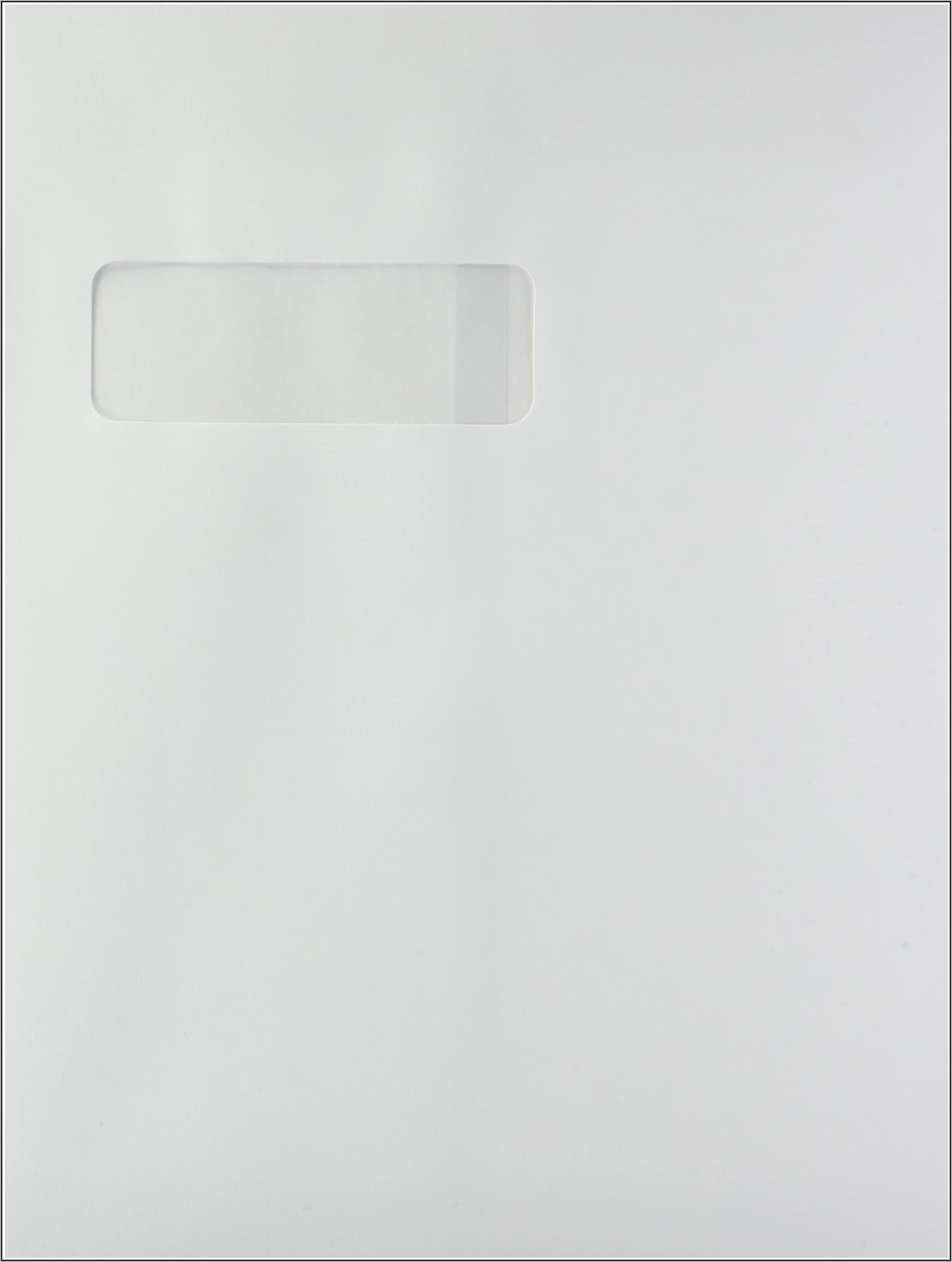 9 X 12 Open End Double Window Envelopes