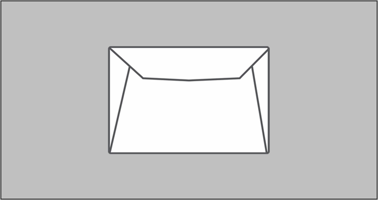 9x12 Envelope Template Indesign