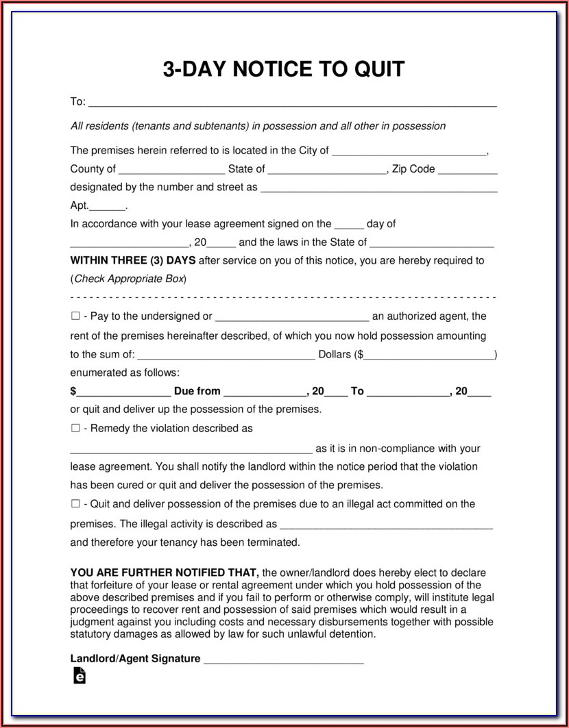 Alabama Notice To Vacate Forms