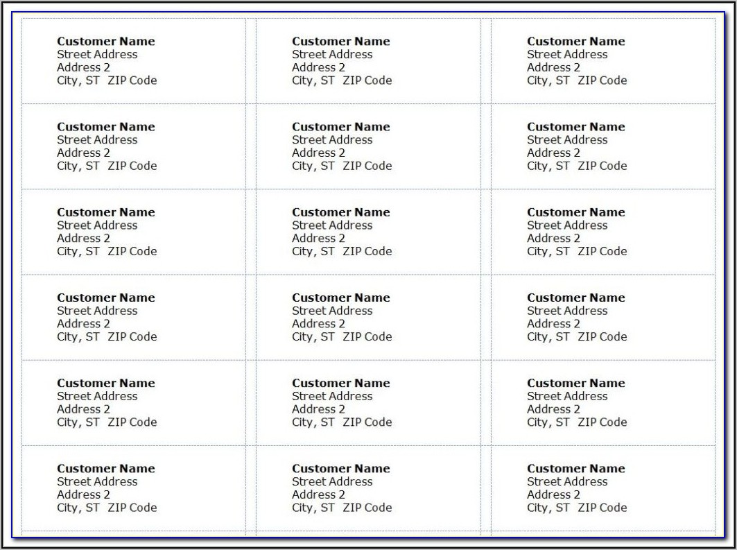 Avery Laser Labels 5162 Template