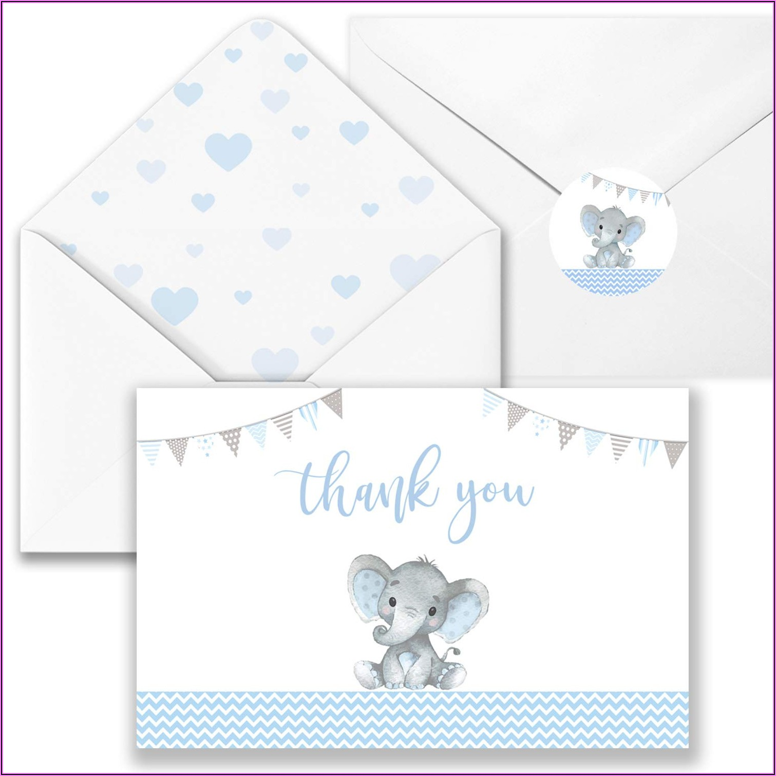 Baby Shower Thank You Card Envelopes