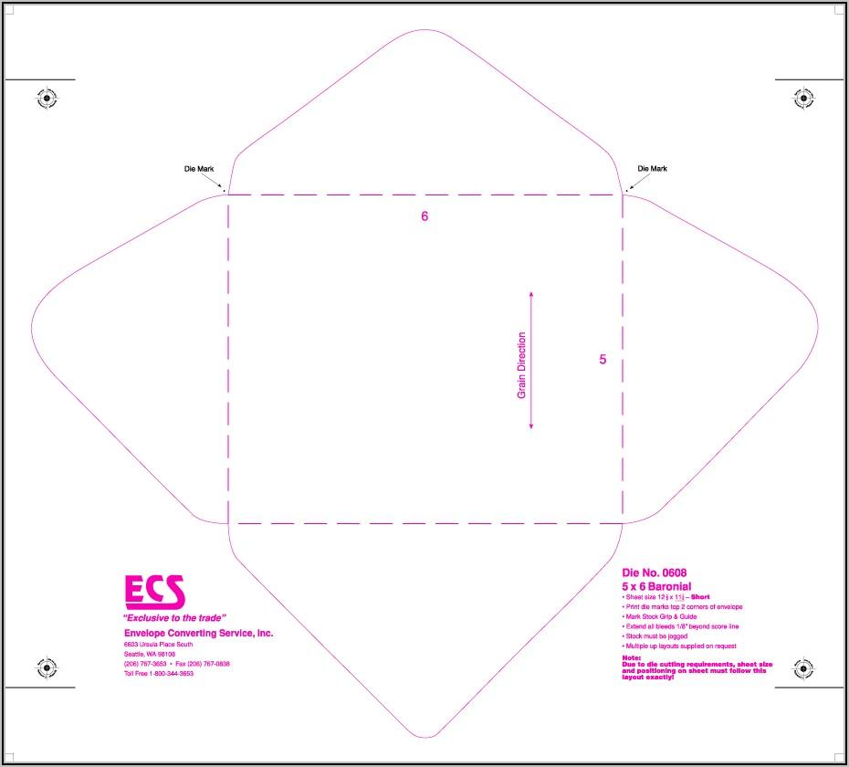 Baronial Envelope Size 5 3 4