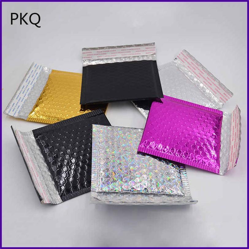 Black And Gold Padded Envelopes