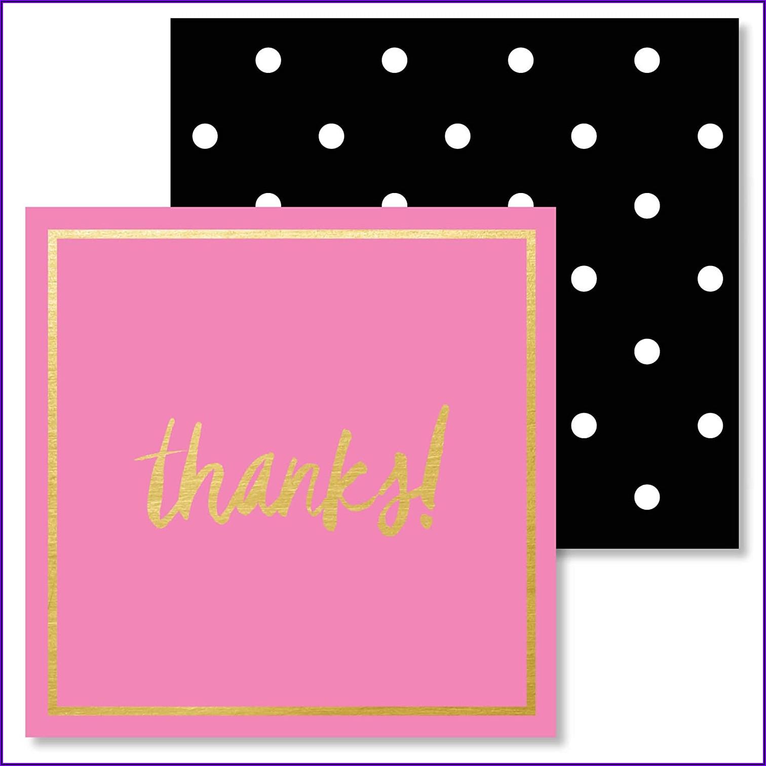 Black And Gold Polka Dot Envelopes