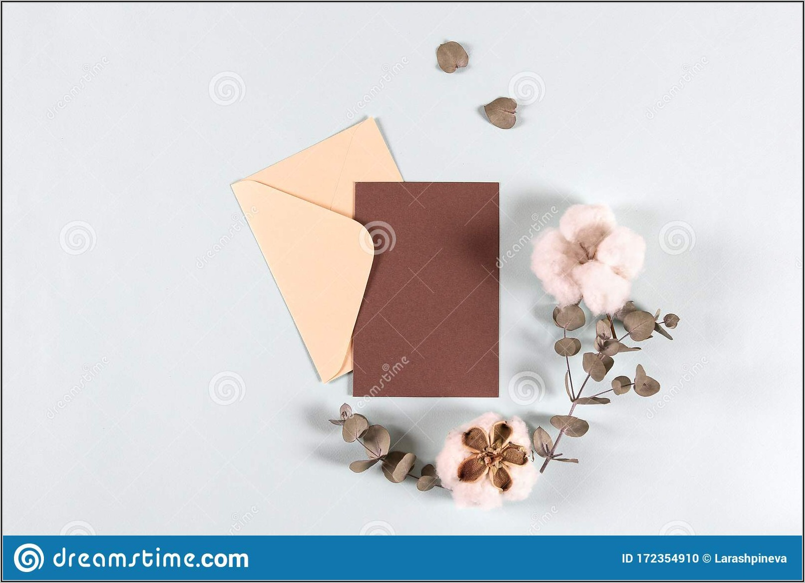 Blank Invitation Paper And Envelopes