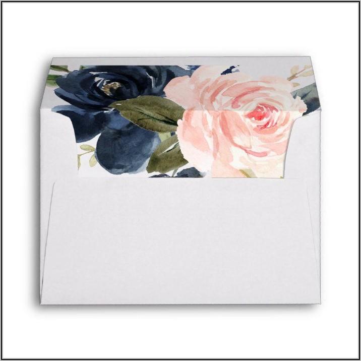 Blush Pink 5×7 Envelopes