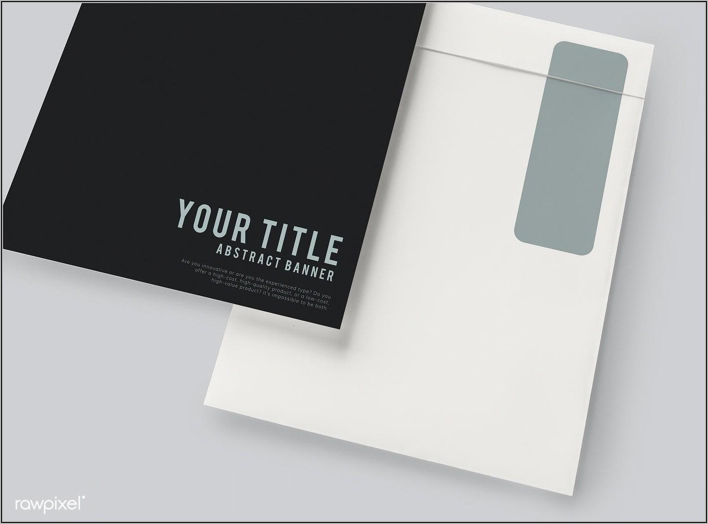 Business Envelope Mockup Psd Free Download