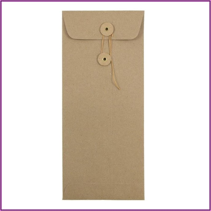 Button And String Envelopes