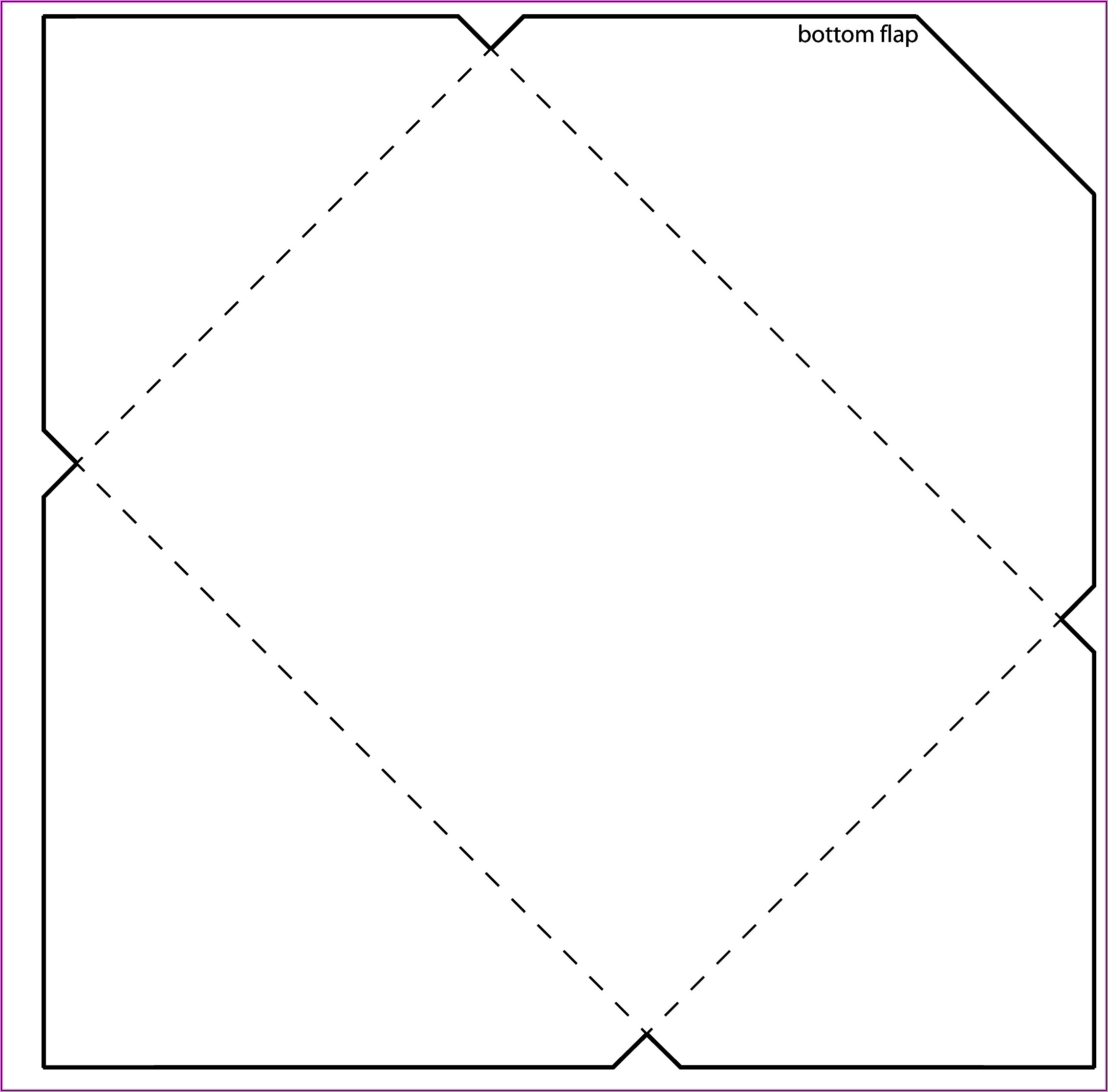 C4 Envelope Template Illustrator