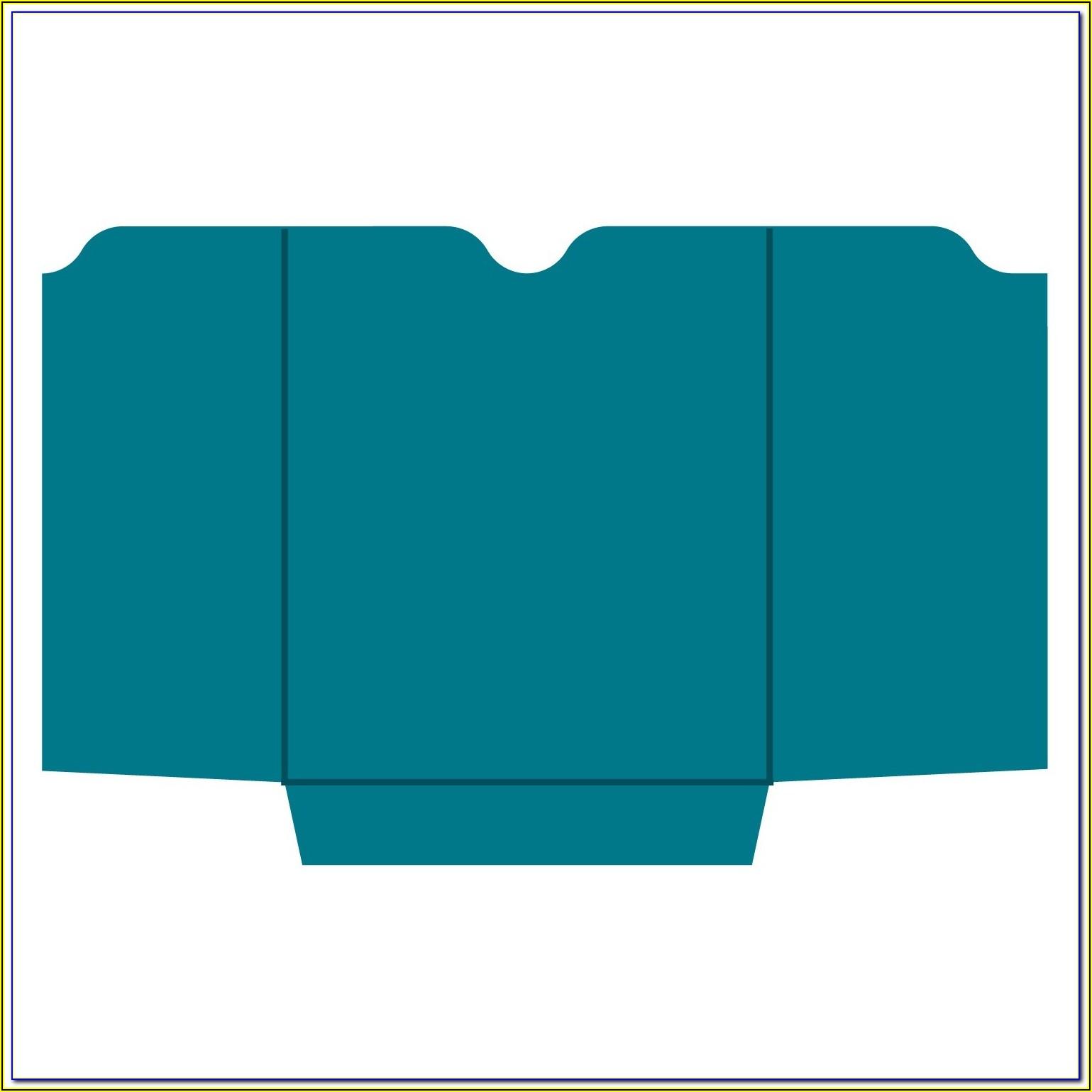 C4 Pocket Envelope Template
