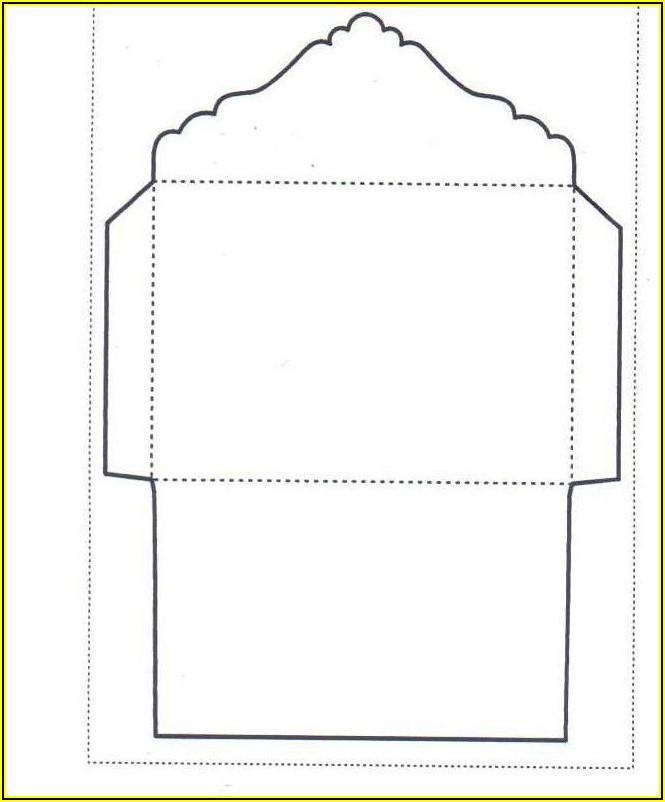C6 Pocket Envelope Template