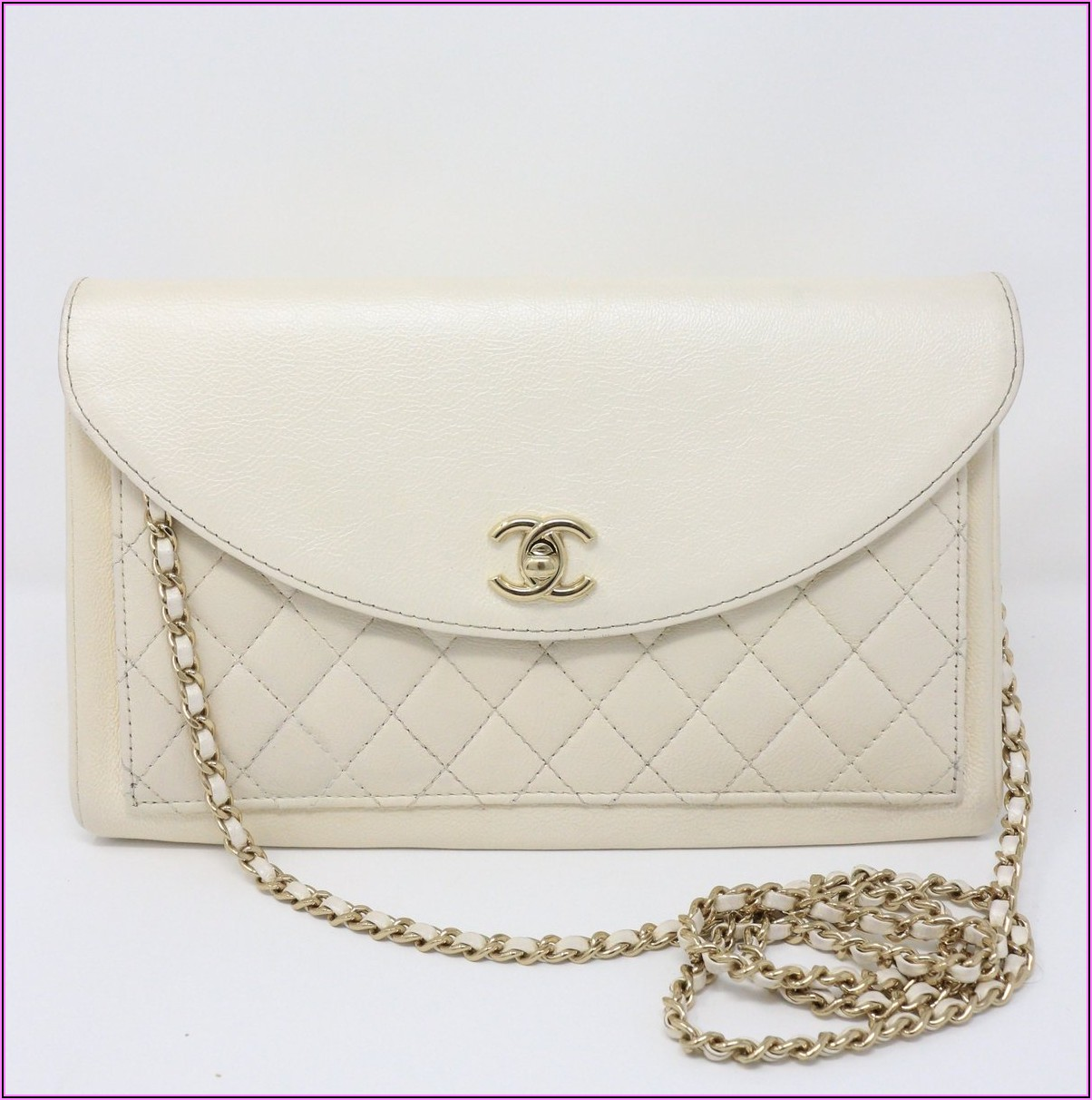 Chanel Envelope Clutch With Chain