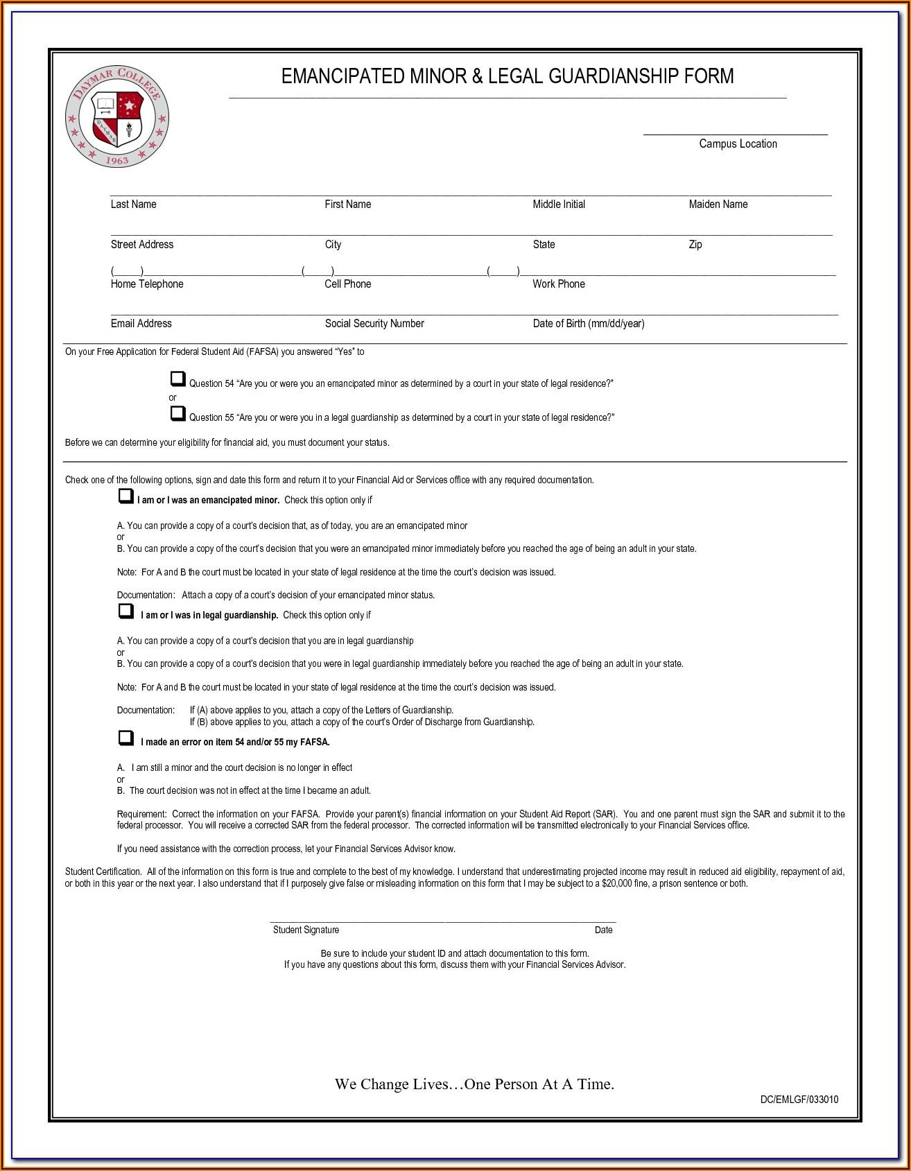 Child Custody Forms Colorado