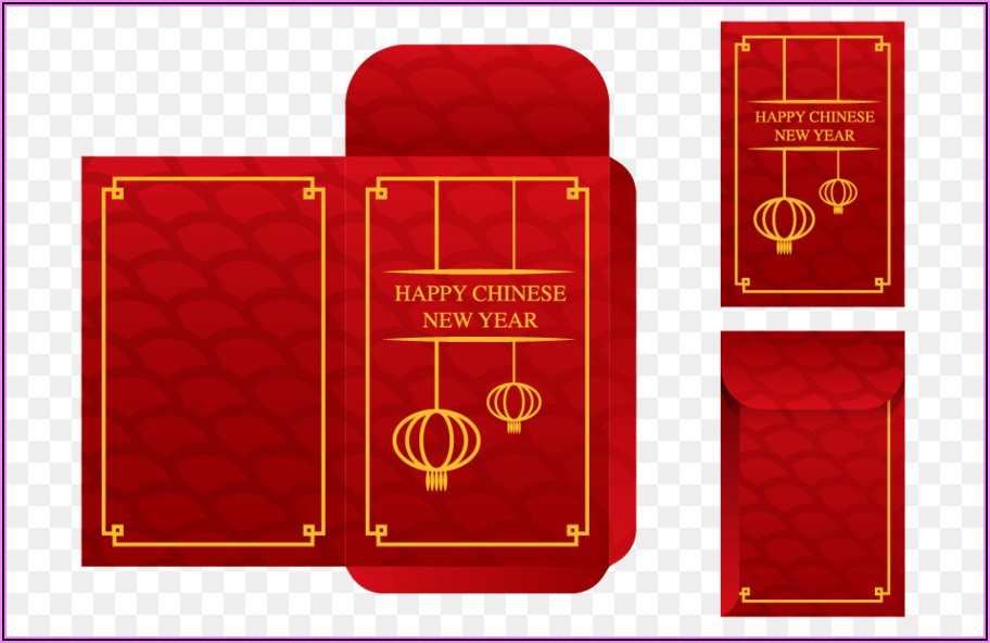 Chinese New Year Red Envelope Template
