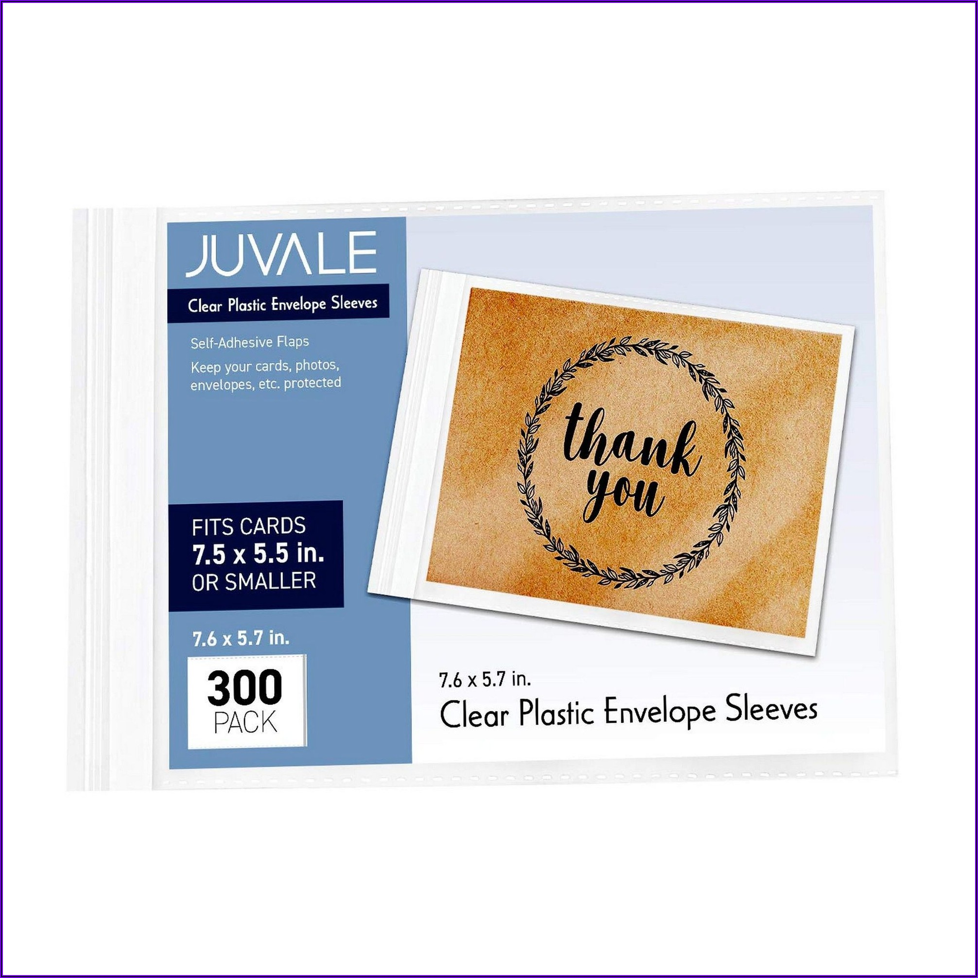 Clear Plastic Envelopes For Greeting Cards