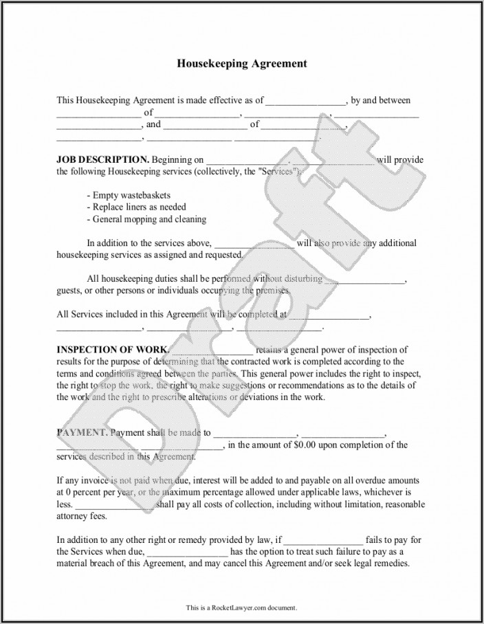 Commercial Cleaning Proposal Template Pdf