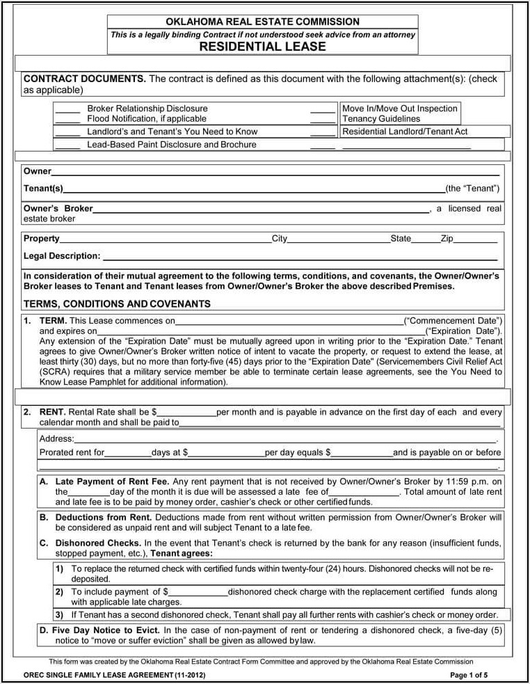 Commercial Property Sublease Agreement Template