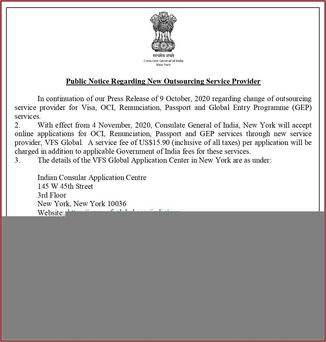 Consulate General Of India Tourist Visa Application Form