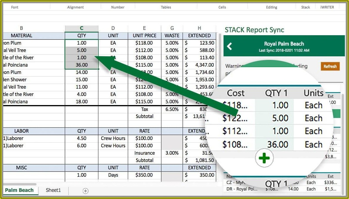 Contractor Quote Template Excel