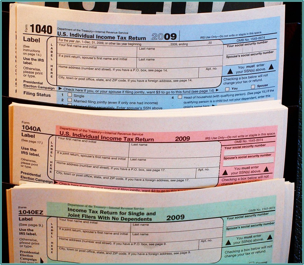 Copy Of Form 1040