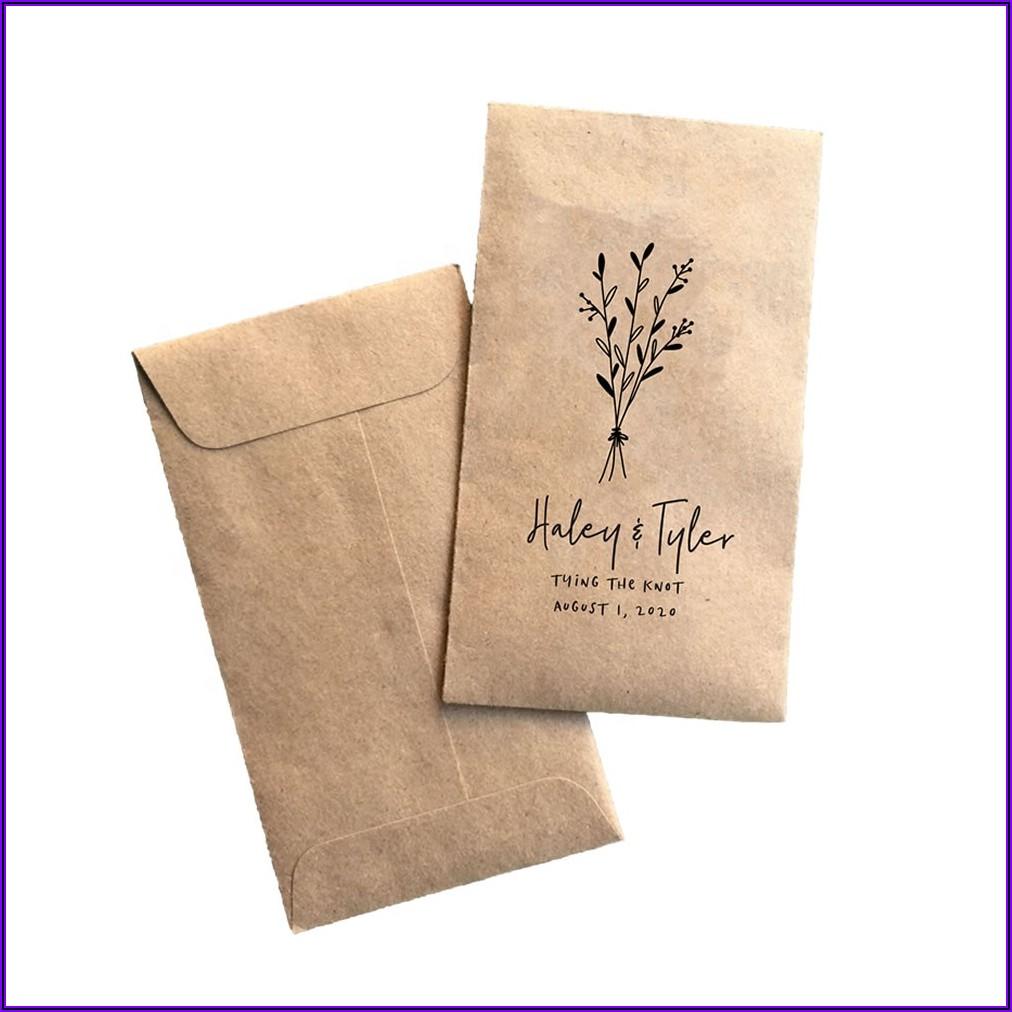 Custom Seed Packet Envelopes